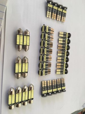 T10 LED BULBS & INTERIOR
