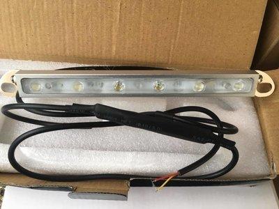 Car LED light bar brake tail Reverse License Plate 3D Lens