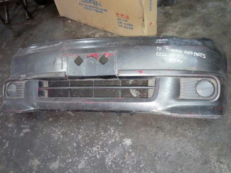 Toyota Isis front bumper