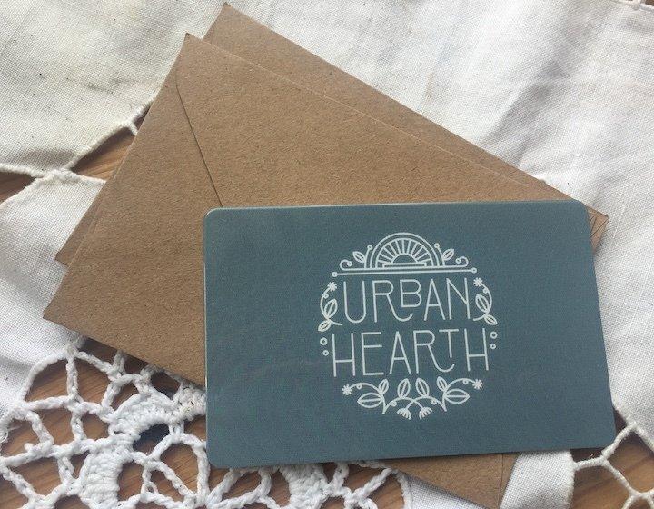 Urban Hearth Gift Card