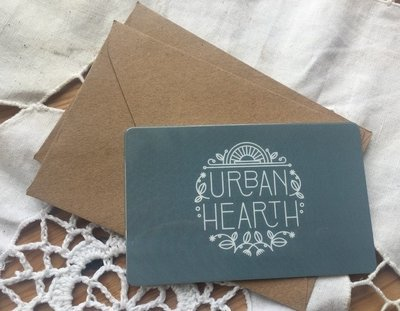 Urban Hearth Gift Card