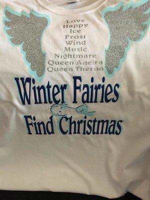 Official Winter Fairies Find Christmas T-Shirt