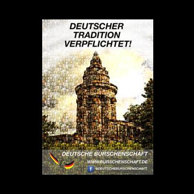 Deutscher Tradition verpflichtet! - Aufkleber