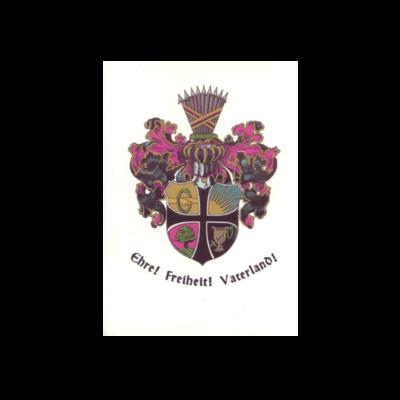 Wappen der Burschenschaft um 1820