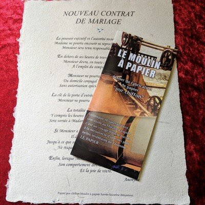 Nouveau contrat de mariage