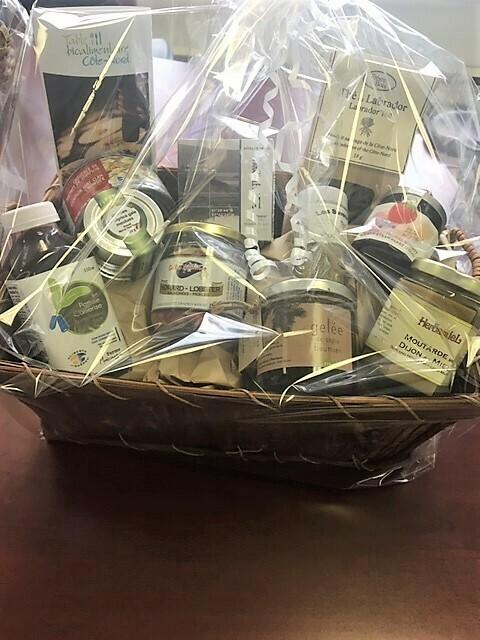 Panier-cadeau d'une valeur de 100,00$