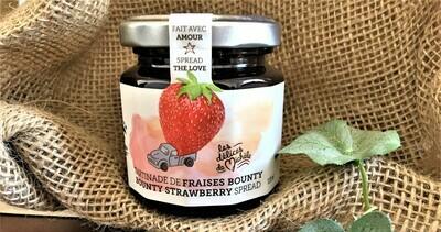 Tartinade de fraises Bounty 120ml  [les délices de Michèle]