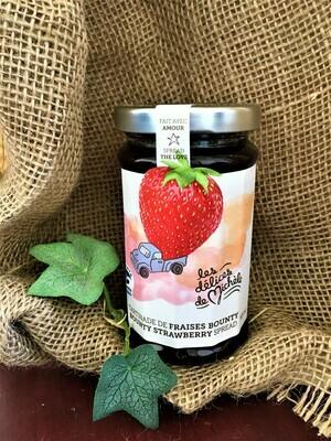 Tartinade de fraises Bounty 195ml  [les délices de Michèle]