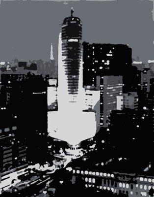 Terraço Itália - Série São Paulo do Preto no Branco