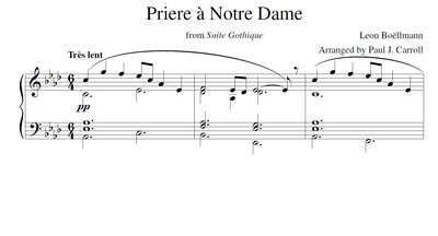 Priere à Notre Dame