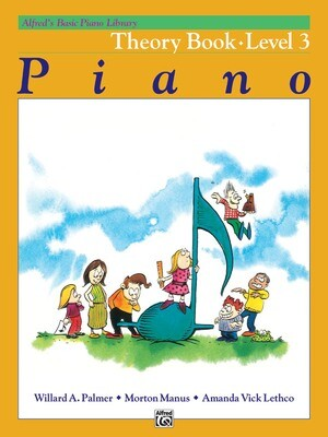 Alfred's Basic Piano Library: Theory Book 3
