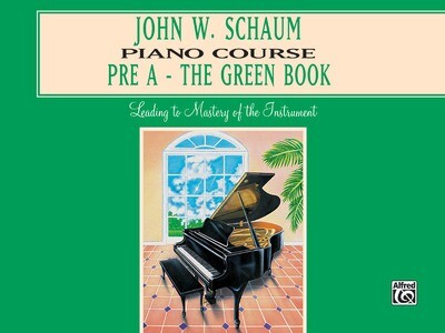 John W. Schaum Piano Course, Pre-A: The Green Book