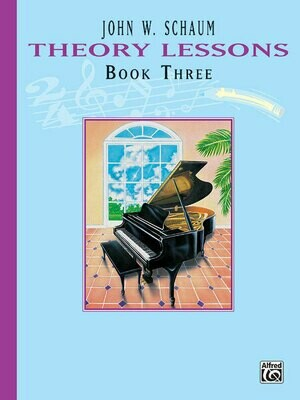Theory Lessons, Book 3