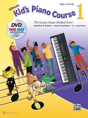 Alfred's Kid's Piano Course 1 (DVD)