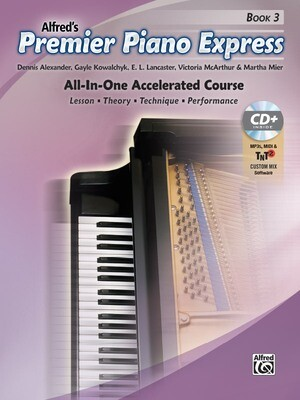 Premier Piano Express, Book 3 and CD