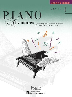 Faber Piano Adventures - Lesson Book Level 5