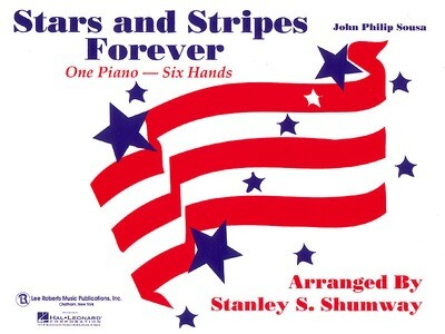 The Stars and Stripes Forever March: One piano - six hands