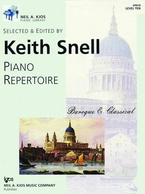 Piano Repertoire: Baroque/Classical Level 10