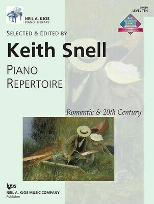 Piano Repertoire: Romantic & 20th Century, Level 10
