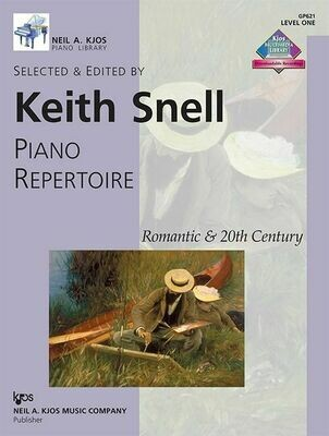 Piano Repertoire: Romantic & 20th Century, Level 1