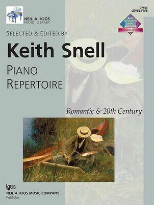 Piano Repertoire: Romantic & 20th Century, Level 5