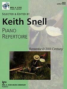 Piano Repertoire: Romantic & 20th Century, Level 3