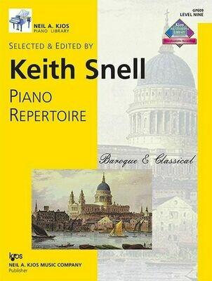 Piano Repertoire: Baroque/Classical Level 9
