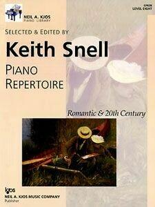 Piano Repertoire: Romantic & 20th Century, Level 8