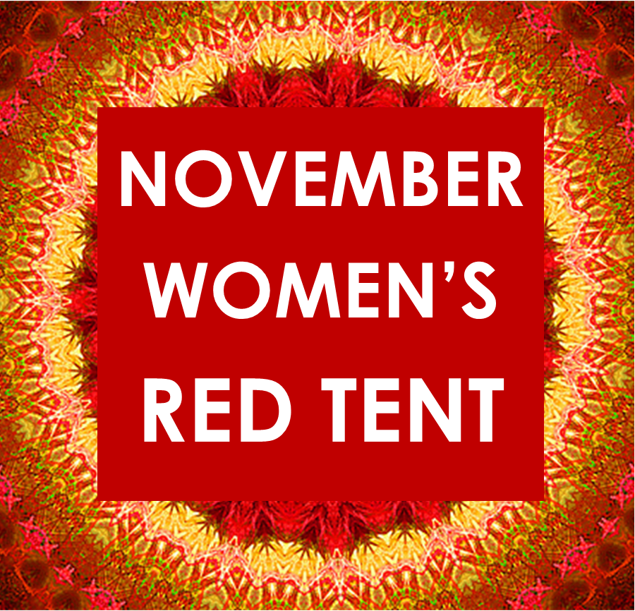 NOVEMBER RED TENT