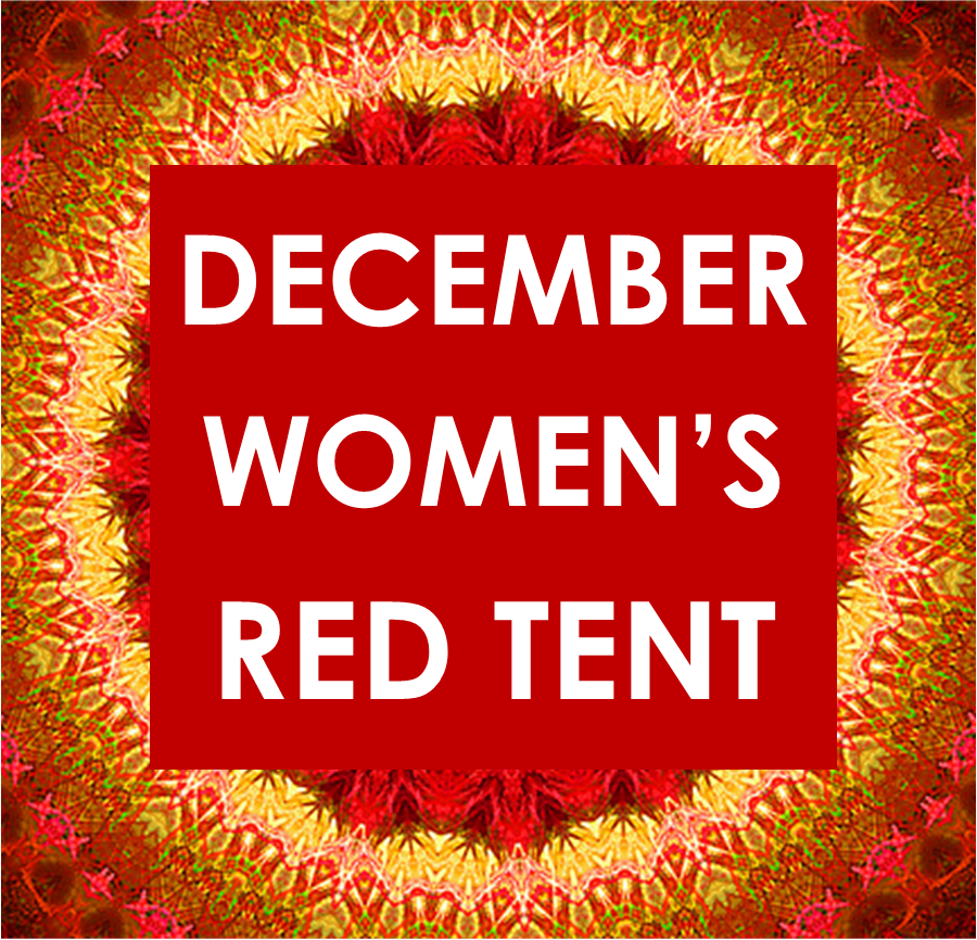 DECEMBER RED TENT