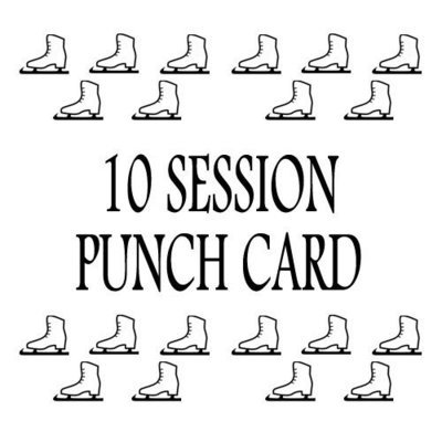 10 Session Punch Card