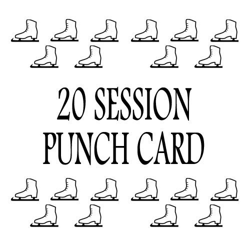 20 Session Punch Card