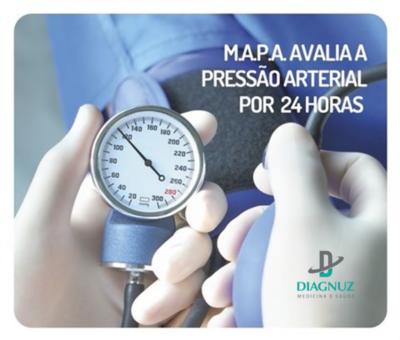 Exame - MAPA ( Monitoramento Ambulatorial da Pressão Arterial 24 horas