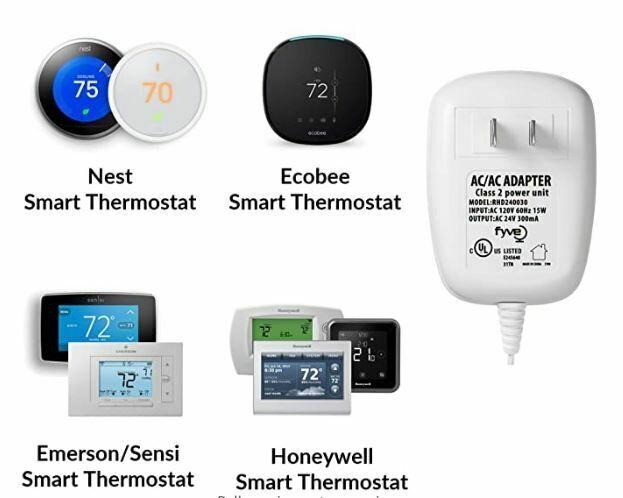 Smart Doorbell/Thermostat Transformer Installation   (Add-On)