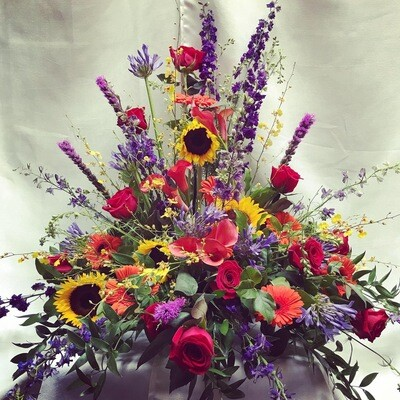 Garden's Grace Traditional Urn by Twigs Florist
