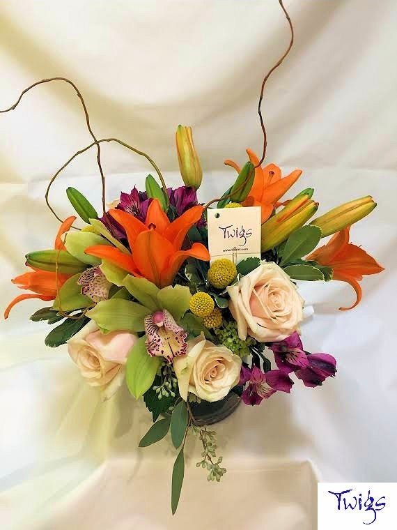 Kompact Design With A Kick by Twigs Florist