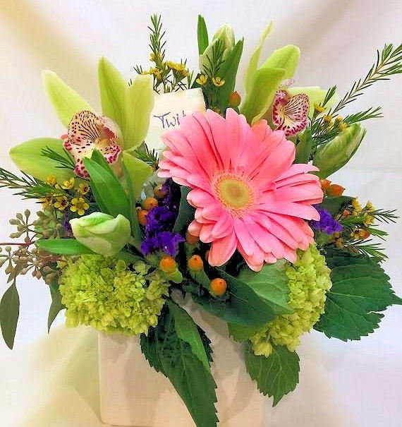 Mixed Cube by Twigs Florist