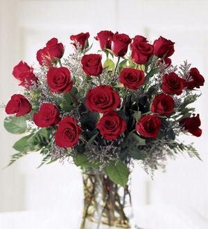 Triple Dozen Vase by Twigs Florist
