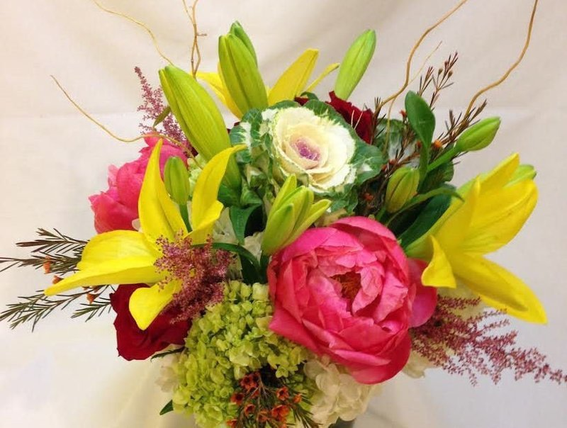 Color Explosion by Twigs Florist