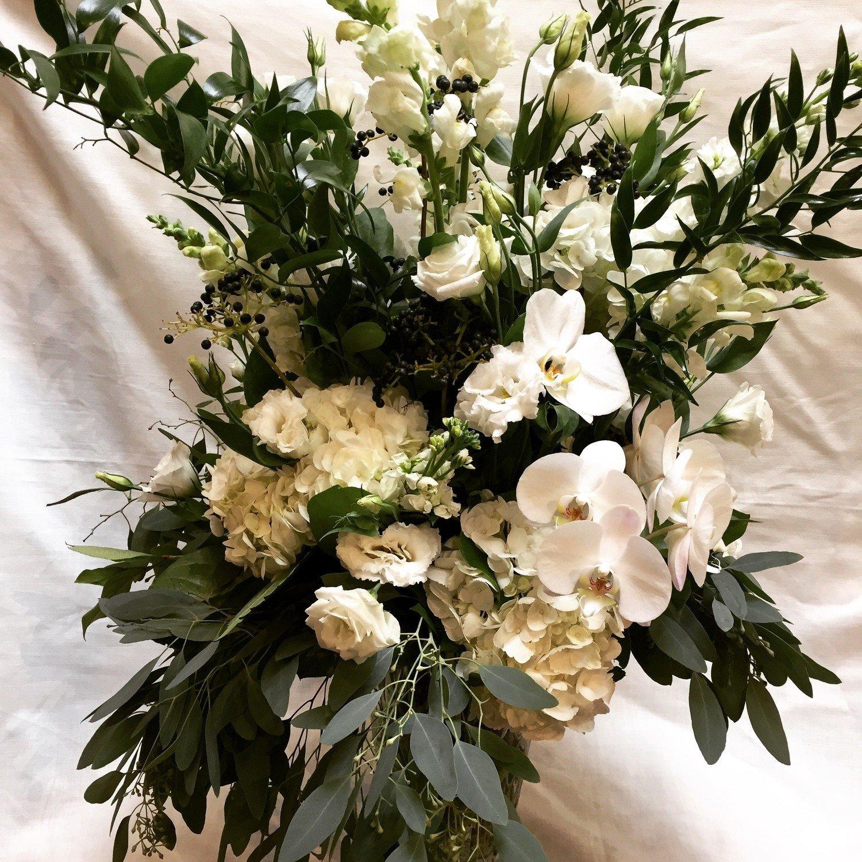 White Garden by Twigs Florist