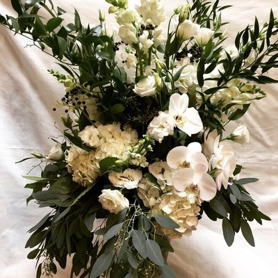 White Garden by Twigs Florist