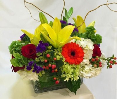 Long Compact Design by Twigs Florist