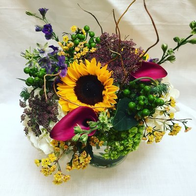 Loose Wildflower by Twigs Florist