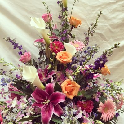 Feminine Garden by Twigs Florist