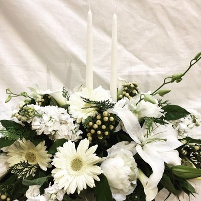 White, Clean and Neat by Twigs Florist