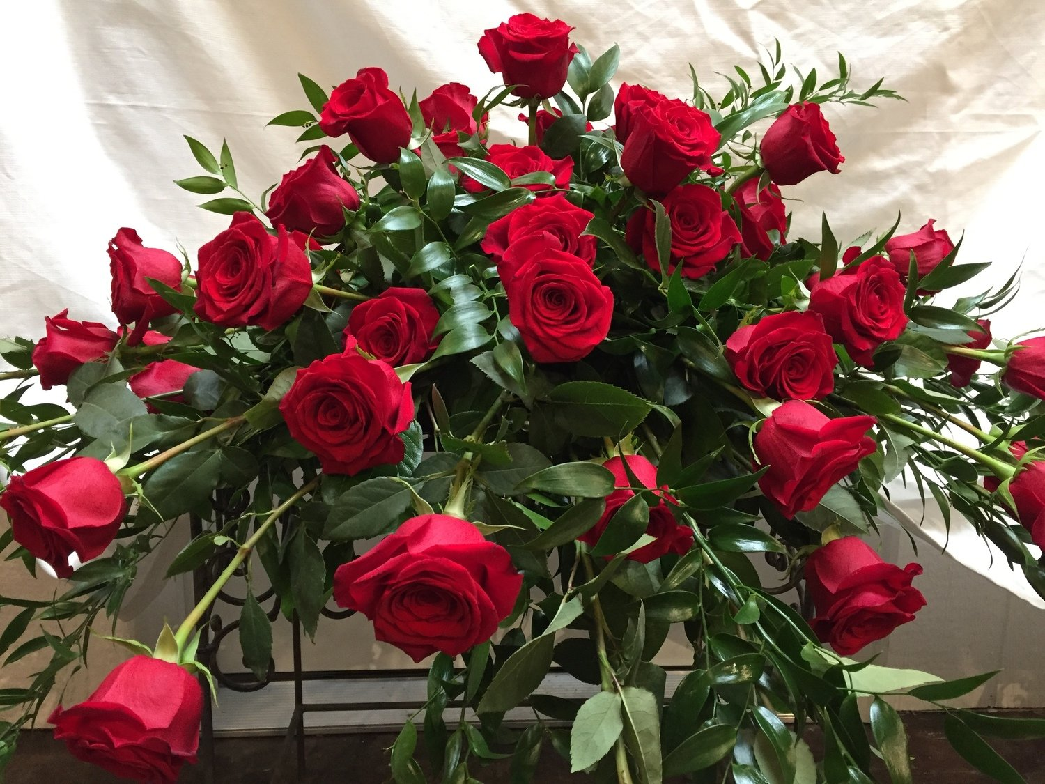 Simply Red Blanket by Twigs Florist