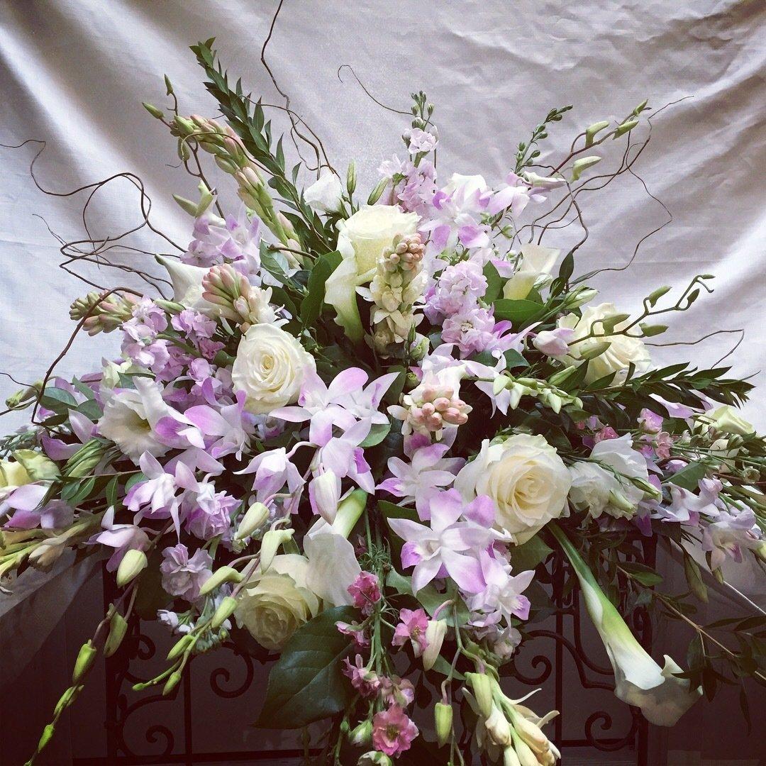 Feminine Love Blanket by Twigs Florist