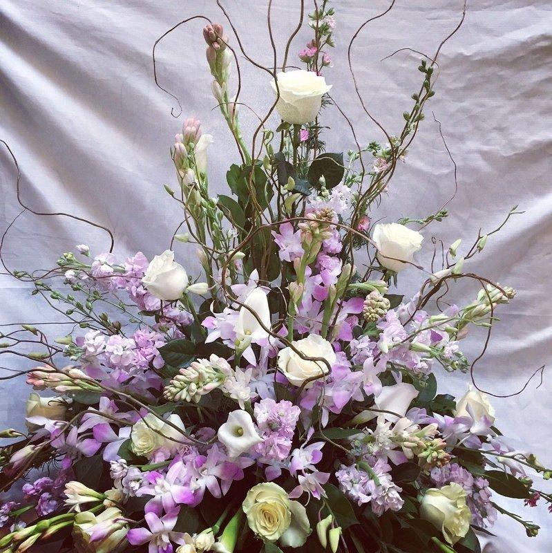 Feminine Love Urn by Twigs Florist