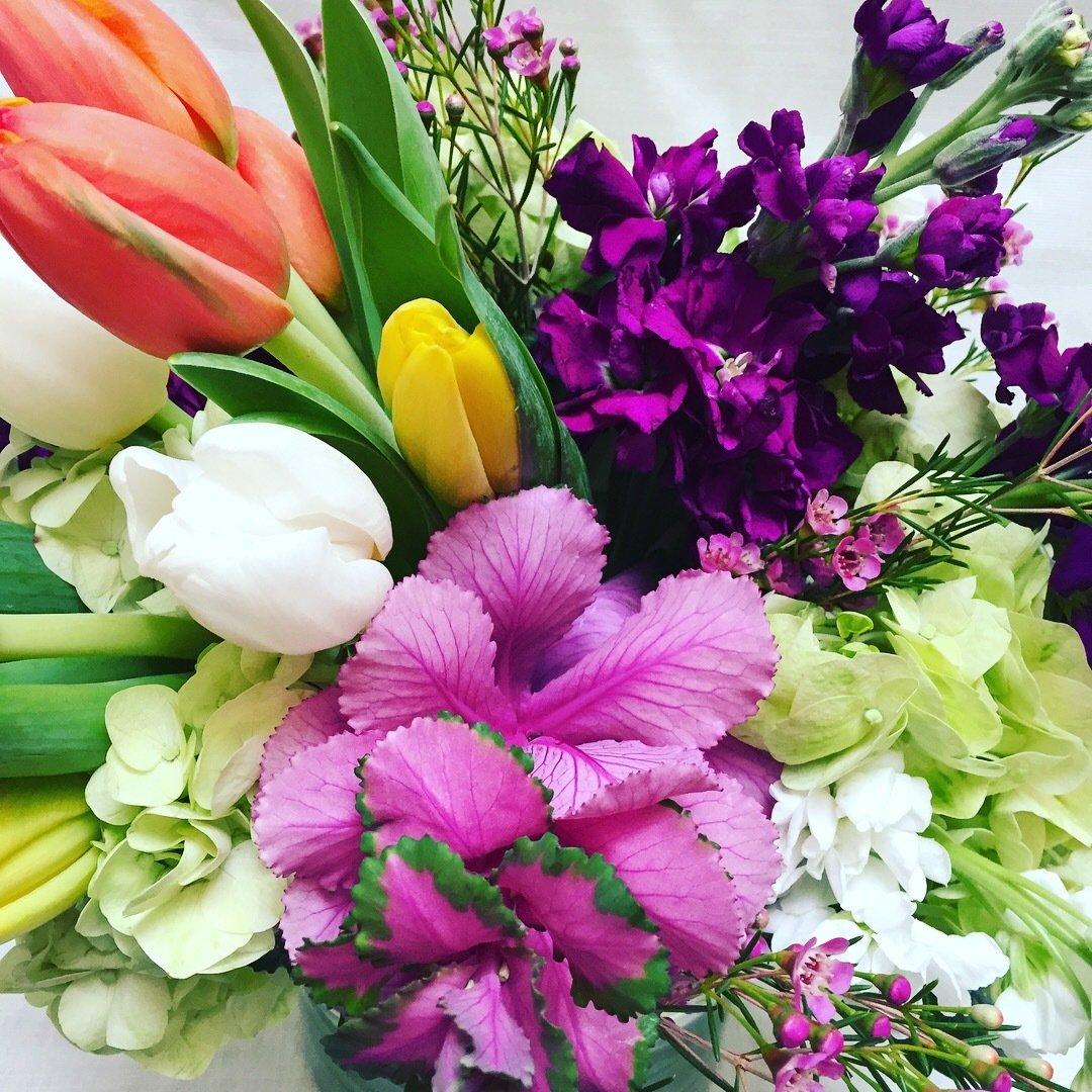 Tulip Tip Toe by Twigs Florist