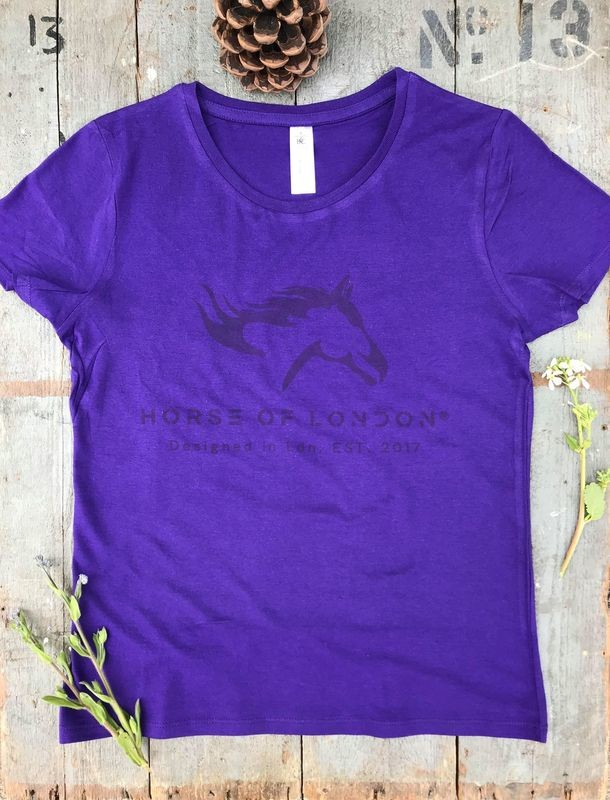 T–Shirt Purple - DEFECTIVE REDUCED